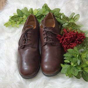 Timberland Company Brown Leather Oxford Shoes